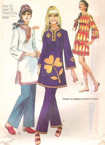vintage dress pattern2