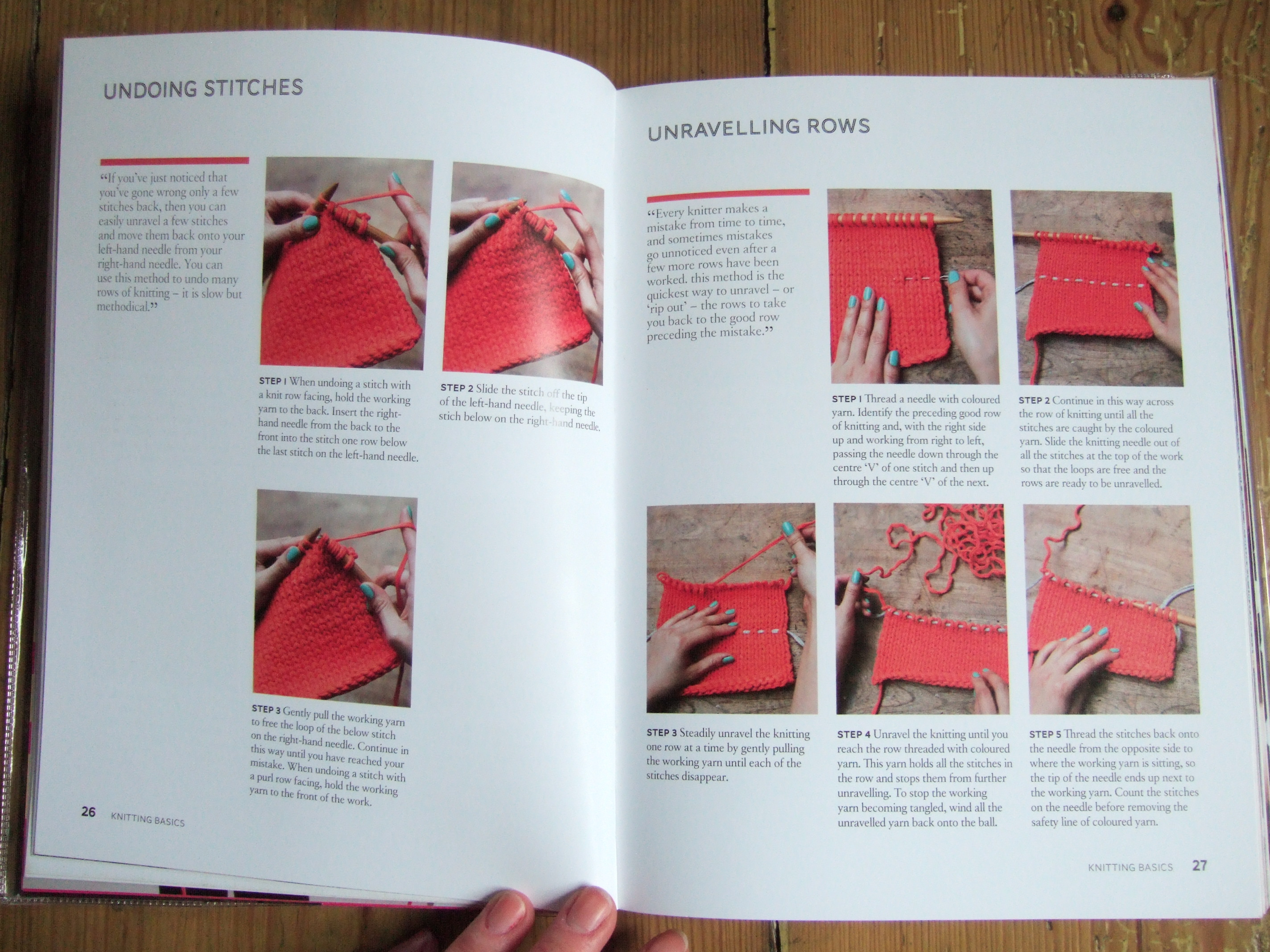 Knitting Basics Book : Book review learn to knit love ivegotknits